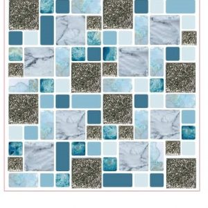 Clever tiles silver like