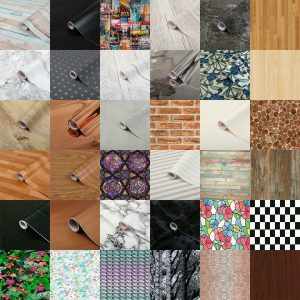 D-C-Fix Self Adhesive Film Vinyl Wall Paper Rolls For Shelves Drawers Wall