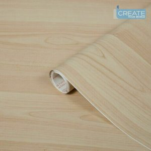 Self Adhesive Vinyl Wrap Wood Maple d-c-fix Sticky Back Plastic 67.5cm x 2m