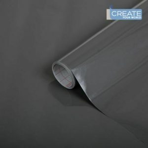 D-c-fix Self Adhesive Wall Paper GLOSSY ANTHRACITE sticky back plastic vinyl wrap film 67.5cm x 2m