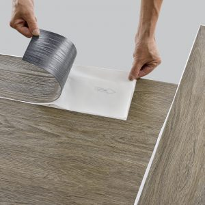oak middle bright Self Adhesive Vinyl PVC floor covering flooring ca.4m²