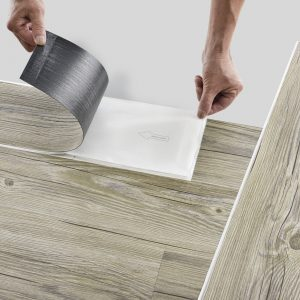 7 Planks Vinyl Self Adhesive Laminate Flooring Planks Oak Light Matte Planks Flooring 0.975 qm