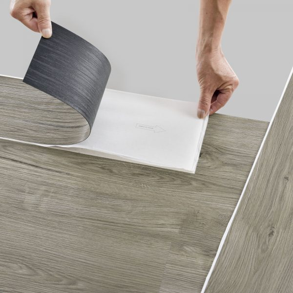 NEUHOLZ® ca.4m² Self Adhesive Vinyl Laminate Planks FLooring Oak Light Matte 28 Planks 3.92qm