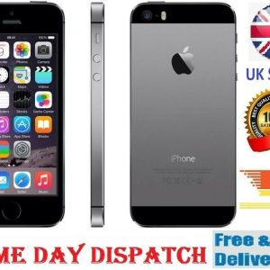 Apple iPhone 5S 16GB Grey Silver Gold Unlocked Smartphone