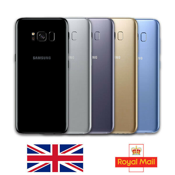 64GB SAMSUNG GALAXY S8 Unlocked Samsung Android Mobile Phone 4G SIM Various Colours