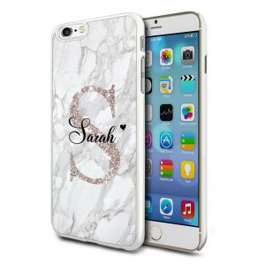 Personalised Marble Samsung Galaxy S6 Case Covers