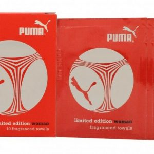 PUMA LIMITED EDITION WOMAN FRAGRANCED TOWELS 10 X 3ML - - Buydby.com