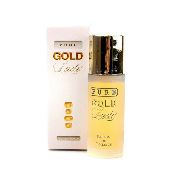 Milton Lloyd Pure Gold Lady Womens Aftershave Eau De Toilette Fragrance Spray - Buydby.com