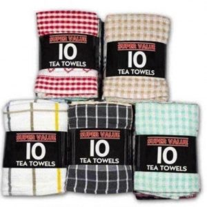 Tea Towel Cotton Rich Large Terry Kitchen Towels Dish Cloth Cleaning Drying lot