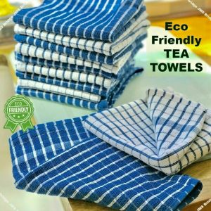HIGH ABSORBENT TERRY COTTON TEA TOWELS KITCHEN DISH CLOTH