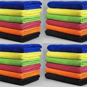 Premium 3x 6x 12x Microfibre Home Kitchen Tea Towels Dusters Cleaning Dish Cloth