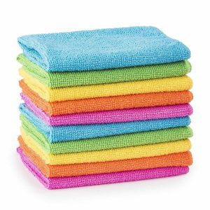 Poundland Microfibre Cloths Dusters Car Bathroom Polish Towels