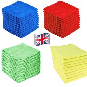 LARGE POUNDLAND MICROFIBRE CLOTHS CAR CLEANING DETAILING SOFT DUSTER TOWEL
