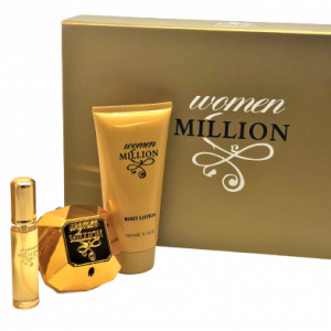 Women Million Fragrance Perfume Gift Sets X-MAS Gift SEALED - Buydby.com