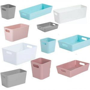 Mrs Hinch Bathroom Kitchen Home Office Storage Basket Boxes